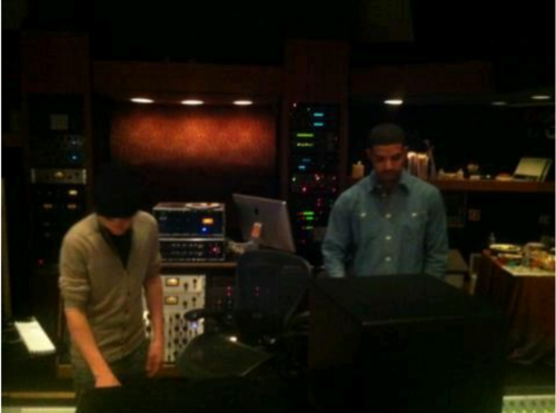 bieber ,with canard, drake ,studio: LA! #Believe