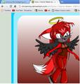 dark light (the dark angel) - sonic-girl-fan-characters photo