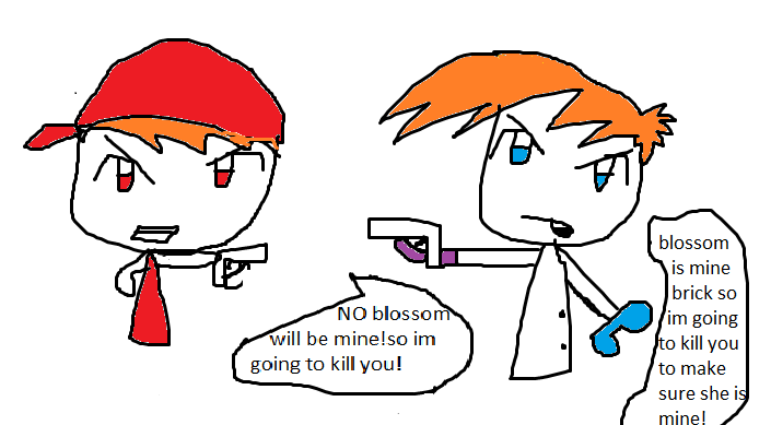 Dexter And Blossom And Brick