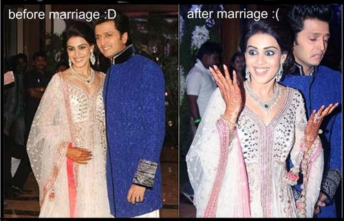 genelia and ritesh