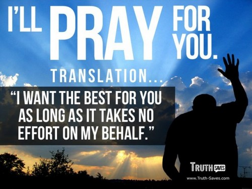 i'll pray for あなた