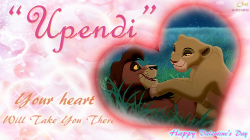 Kovu and Kiara amor HD wallpaper