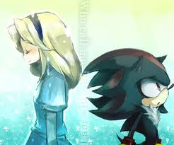 Shadow The Hedgehog kertas dinding with Anime called maria..... where are anda :'(
