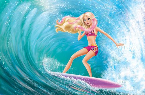 barbie in mermaid tale wallpaper containing a bikini entitled mt