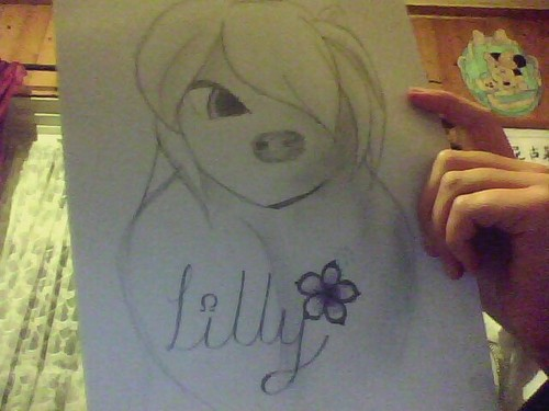 my drawing of lilly :P Xx