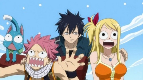 natsu,lucy and gray
