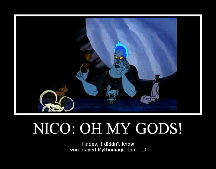 The Heroes of Olympus achtergrond with anime called nico