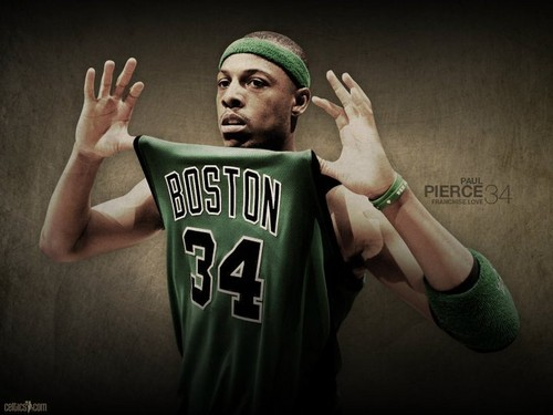Boston Celtics پیپر وال called paul pierce