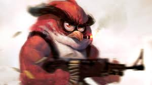 red bird?!