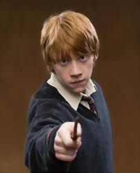 ron with wand