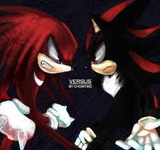 shadow vs knuckles