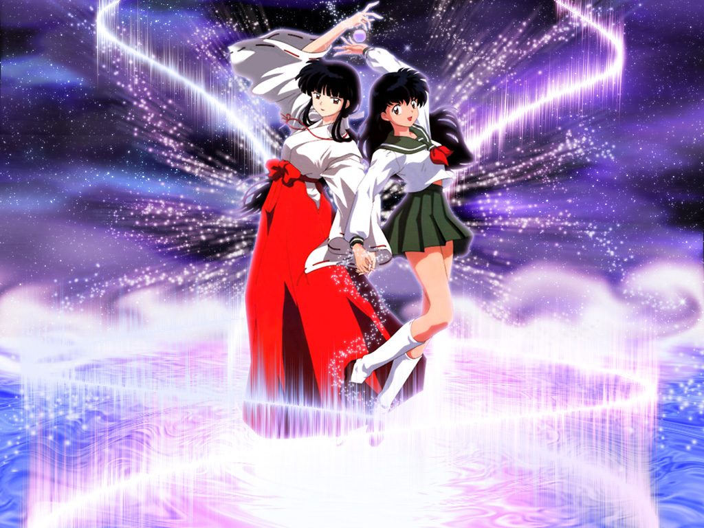 [Inuyasha] Kikyo and Kagome Higurashi