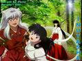 [Inuyasha] Kikyo and Kagome Higurashi - inuyasha wallpaper