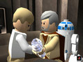 Luke , Obi Wan and Rd D2 - lego-star-wars photo