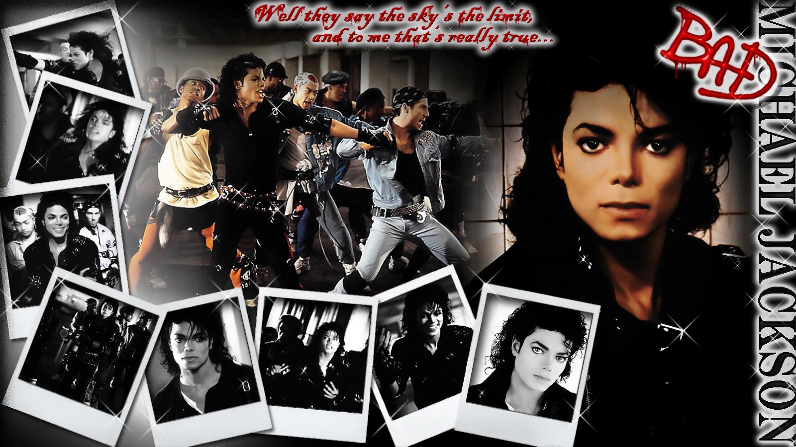Michael Jackson Bilder Mj Bad Hd Hintergrund And Background Fotos