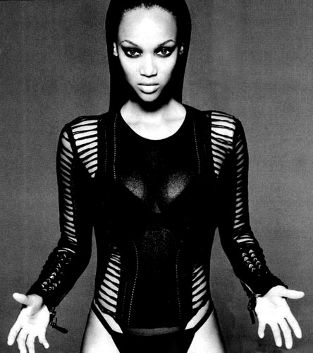 tyra banks wallpaper probably containing tights, a leotard, and a legging titled ♠ TYRA ♠