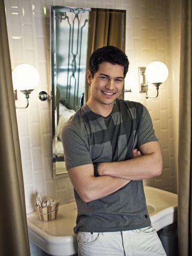 Turkish Actors and Actresses wallpaper with a bathroom, a shower stall, and a shower titled Çağatay Ulusoy