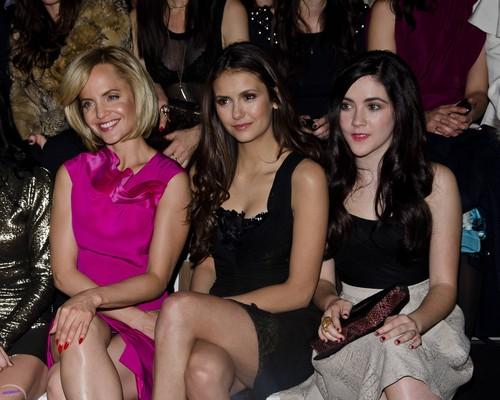 11 Feb 2012 Nina @ MBFW - Christian V. Siriano Fall 2012