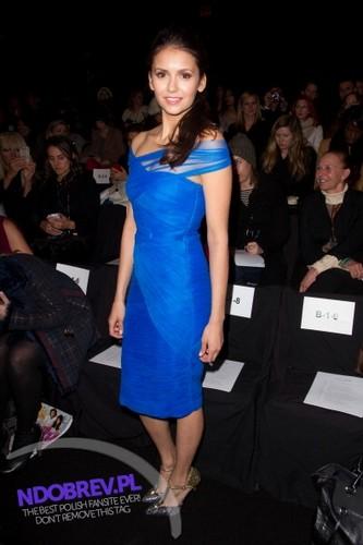 11 Feb Nina @ MBFW - Monique Lhuillier Fall 2012
