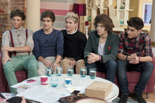 1D on 'This Morning'!