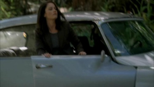 The Mentalist wallpaper possibly with an automobile, a sedan, and a hatchback titled 1x17- Carnelian Inc.