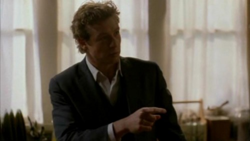 The Mentalist wallpaper containing a business suit titled 1x17- Carnelian Inc.