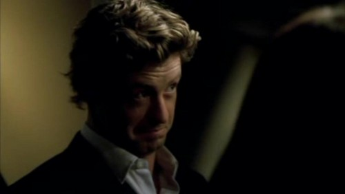 The Mentalist wallpaper containing a business suit and a suit titled 1x18- Russet Potatoes