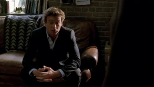 The Mentalist wallpaper containing a business suit and a well dressed person entitled 1x18- Russet Potatoes