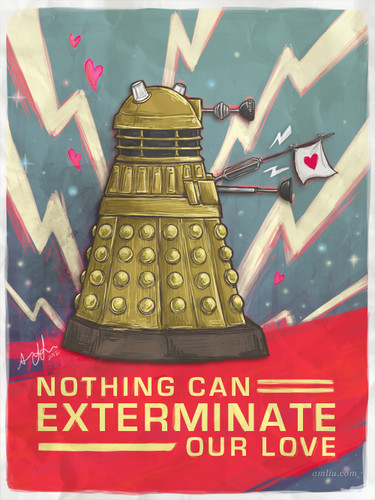 A Very Dalek Valentines
