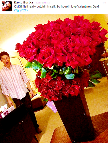 A bouquet for David ♥