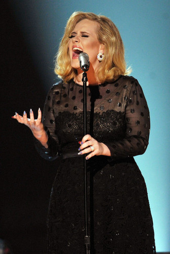 Adele performing @ 54th Annual GRAMMY Awards - hiển thị