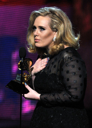 Adele @ the 54th Annual GRAMMY Awards - Show