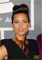 Alicia Keys - Grammys 2012 Red Carpet With Swizz Beatz - alicia-keys photo
