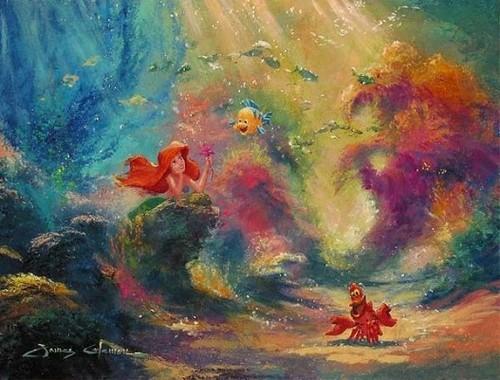 La Sirenetta wallpaper titled Ariel