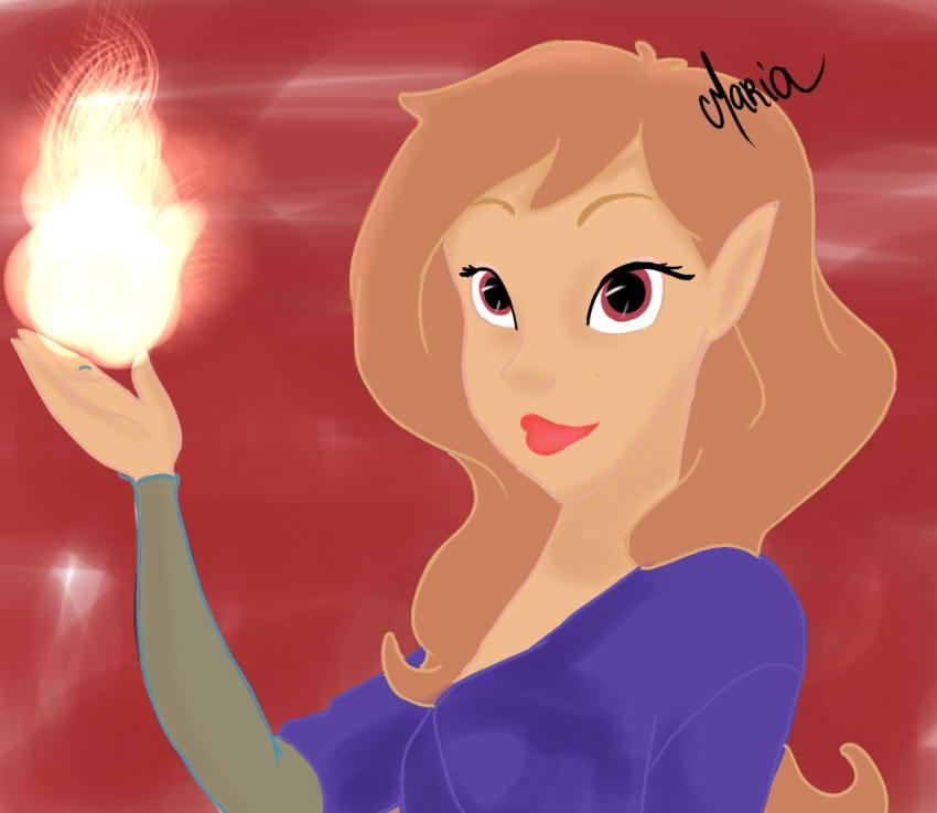Disney princess oc images aura iris hd wallpaper and - Images princesse ...