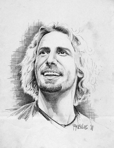 Awesome Sketch of Chad Kroeger