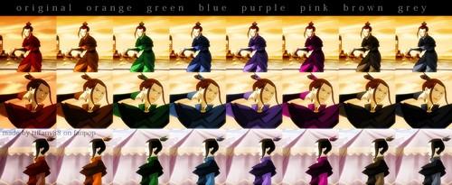 Azula - colori