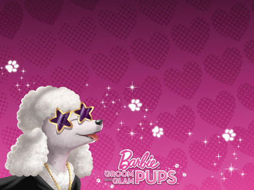 Barbie Groom & Glam Pups