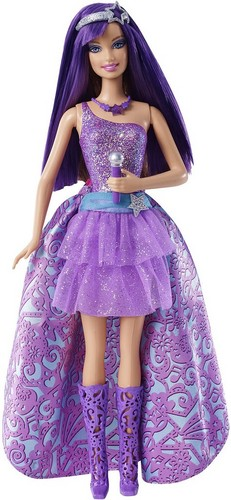 Barbie The Princess and the PopStar Puppen