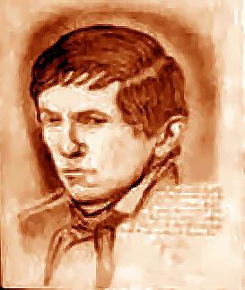 Dark Shadows fond d'écran probably with a bonnet called Barnabas Collins-Pencil Portrait on Canvas
