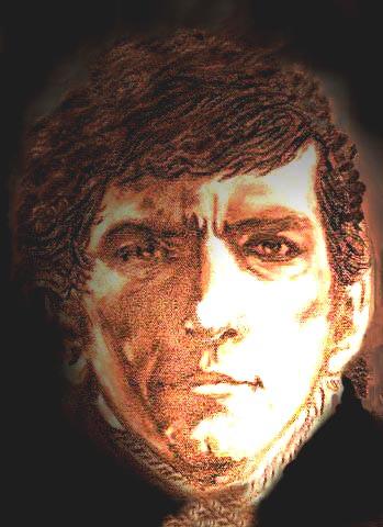 Dark Shadows wallpaper titled Barnabas Collins-Shadowed