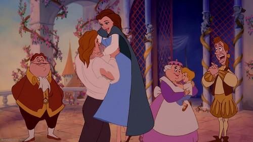 Beast Carries Belle