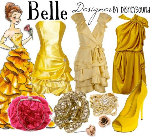 Disney Inspired Outfits Belle Disney Outfits for Gir...
