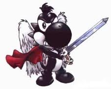 Black Yoshi fighter