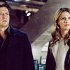Castle photo probably containing a business suit, a well dressed person, and a portrait called Castle & Beckett