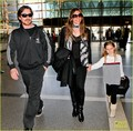 Christian Bale &amp; Family Take Flight - christian-bale photo