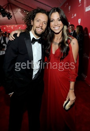 Christina Perri and Jason Mraz at Paul McCartney tribute
