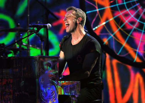 Coldplay performing @ the 54th Annual GRAMMY Awards - Zeigen