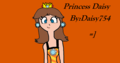 Daisy - princess-daisy fan art