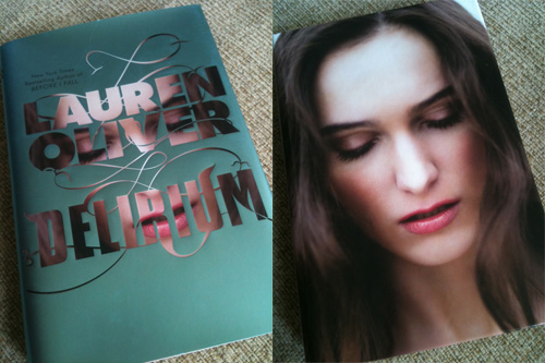 Delirium- book cover girl